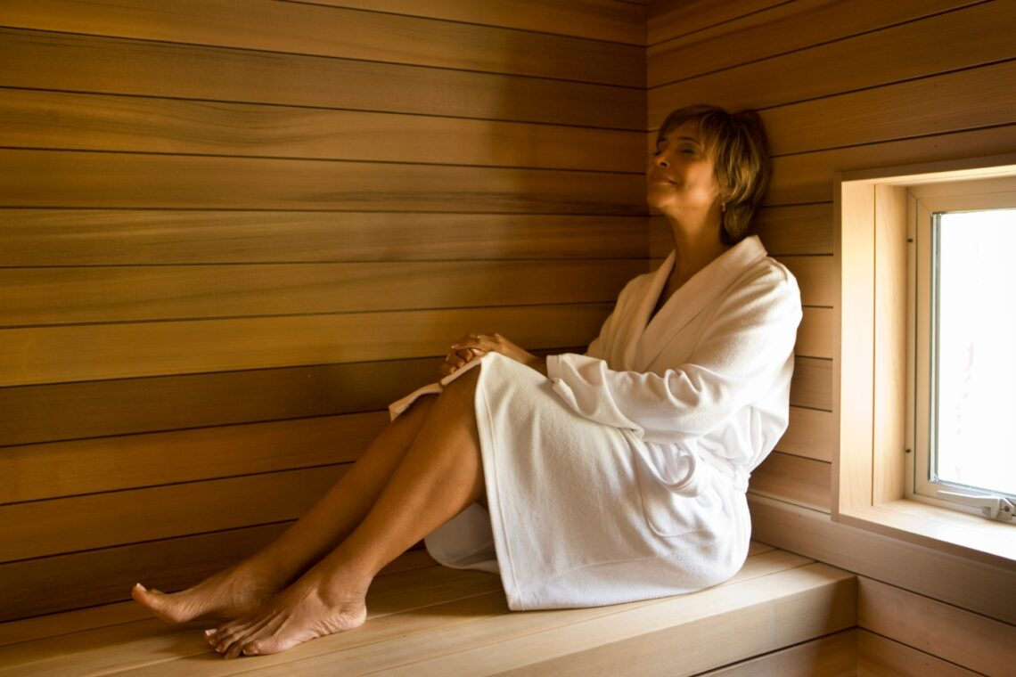 sauna for your skin