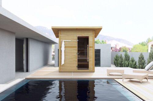 sauna construction outdoor